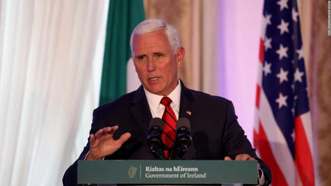 Pence's disastrous trip abroad sparks wit in response