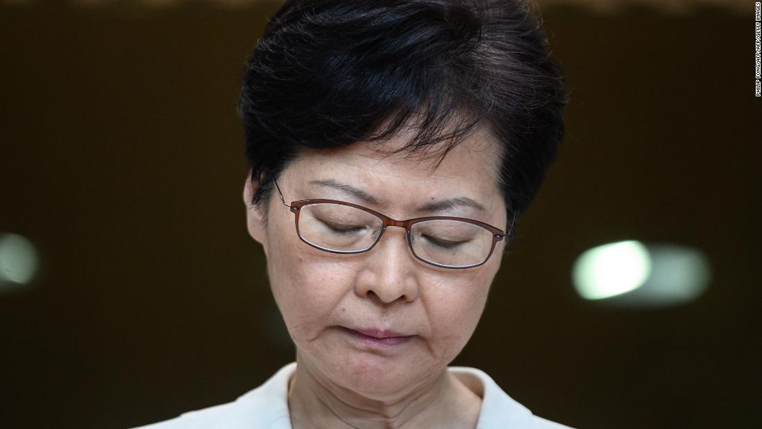 Carrie Lam is a lame duck doomed to always be the leader who plunged Hong Kong into chaos