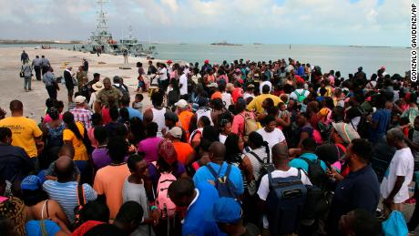 Dozens of Bahamas evacuees were told to get off a ferry headed to the US. CBP blames the ferry operator.