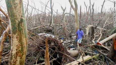The Bahamas' death toll is rising as 70,000 residents left homeless by Hurricane Dorian seek food and shelter