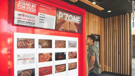 "Pizza Hut is working on ""cubbies"" that make it easier for customers to pick up food they ordered."