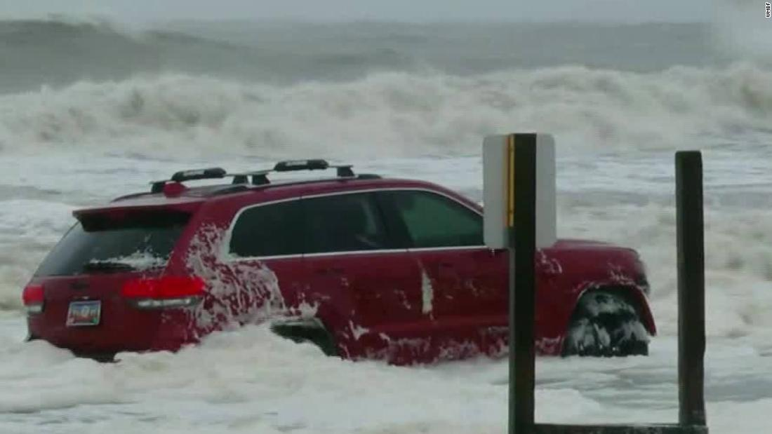 Owner of the Jeep abandoned in the surf on Myrtle Beach during Hurricane Dorian explains how it got there