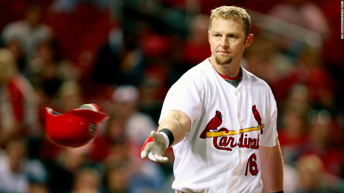 Der ehemalige St. Louis Cardinals-Spieler Chris Duncan stirbt mit 38, - team sagt