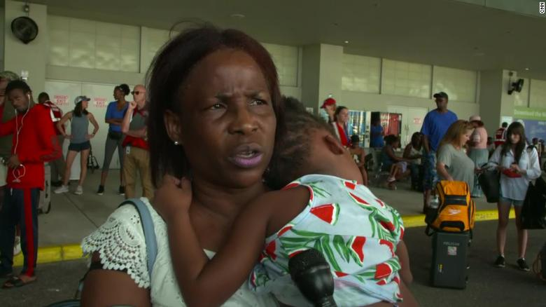 Evacuees arrive in Florida after leaving ravaged Bahamas