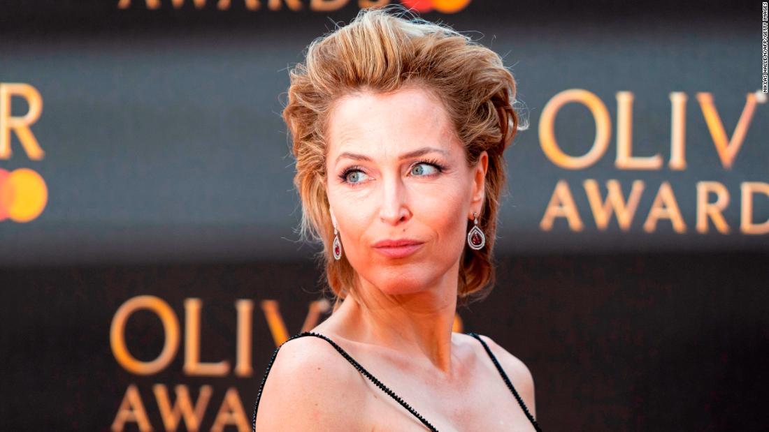 Gillian Anderson says she won't wear a bra ever again