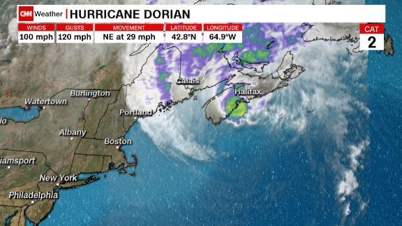 Hurricane Dorian Aims Wrath at Canada   KTLA
