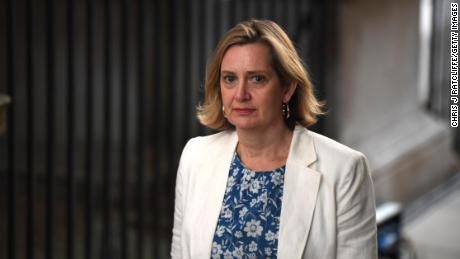 Amber Rudd was a prominent Conservative lawmaker until December's general election.