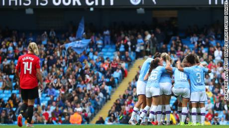 Manchester City earns bragging rights in first women's