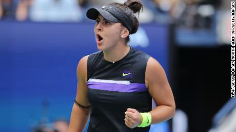 Bianca Andreescu hasn't lost to a top 10 player this season.