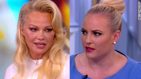 Pamela Anderson clashes with 'The View' hosts