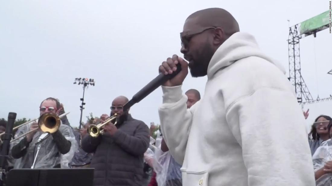 Kanye West bringt am Sonntag Dienst für seine Heimatstadt Chicago