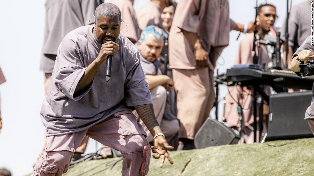Kanye West releases 'Jesus is King' film trailer
