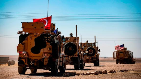 On September 8, the United States and Turkey began joint patrols in northeastern Syria aimed at easing tensions between Ankara and US-backed Kurdish forces.