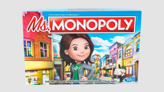 Ms. Monopoly is meant to celebrate women