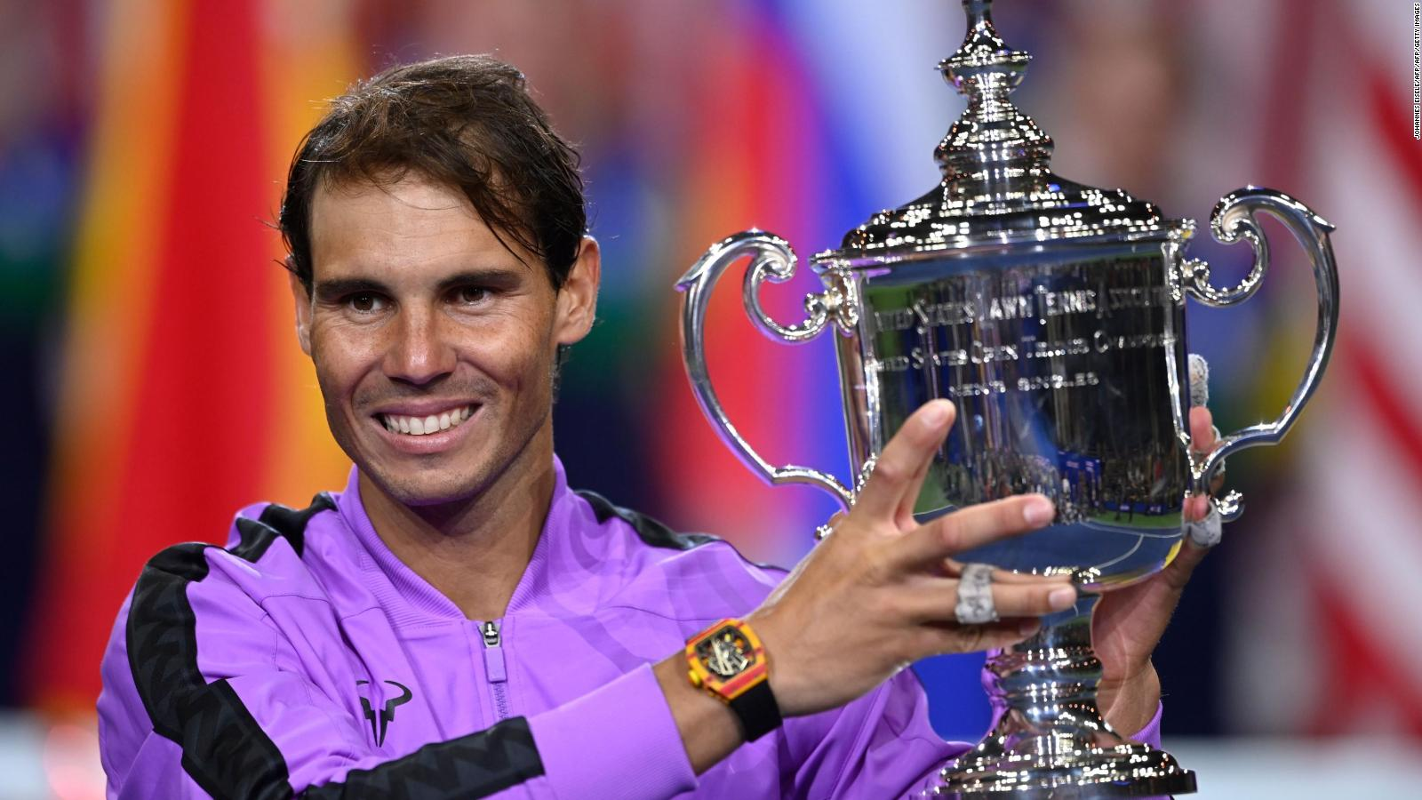 Rafael Nadal Reduced To Tears After Winning Unforgettable Us Open Title Cnn