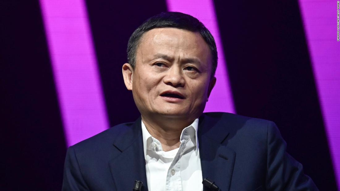 Alibaba founder cashes out billions of dollars in shares as stock booms