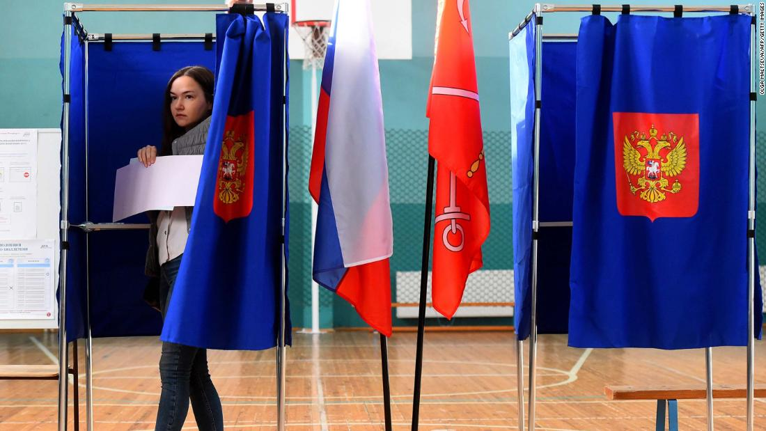 Russia's ruling party takes a hit in Moscow election