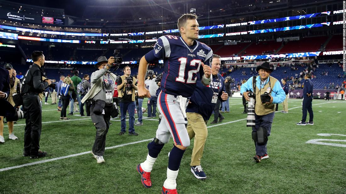 Tom Brady says again that he will play in the NFL until he's 45