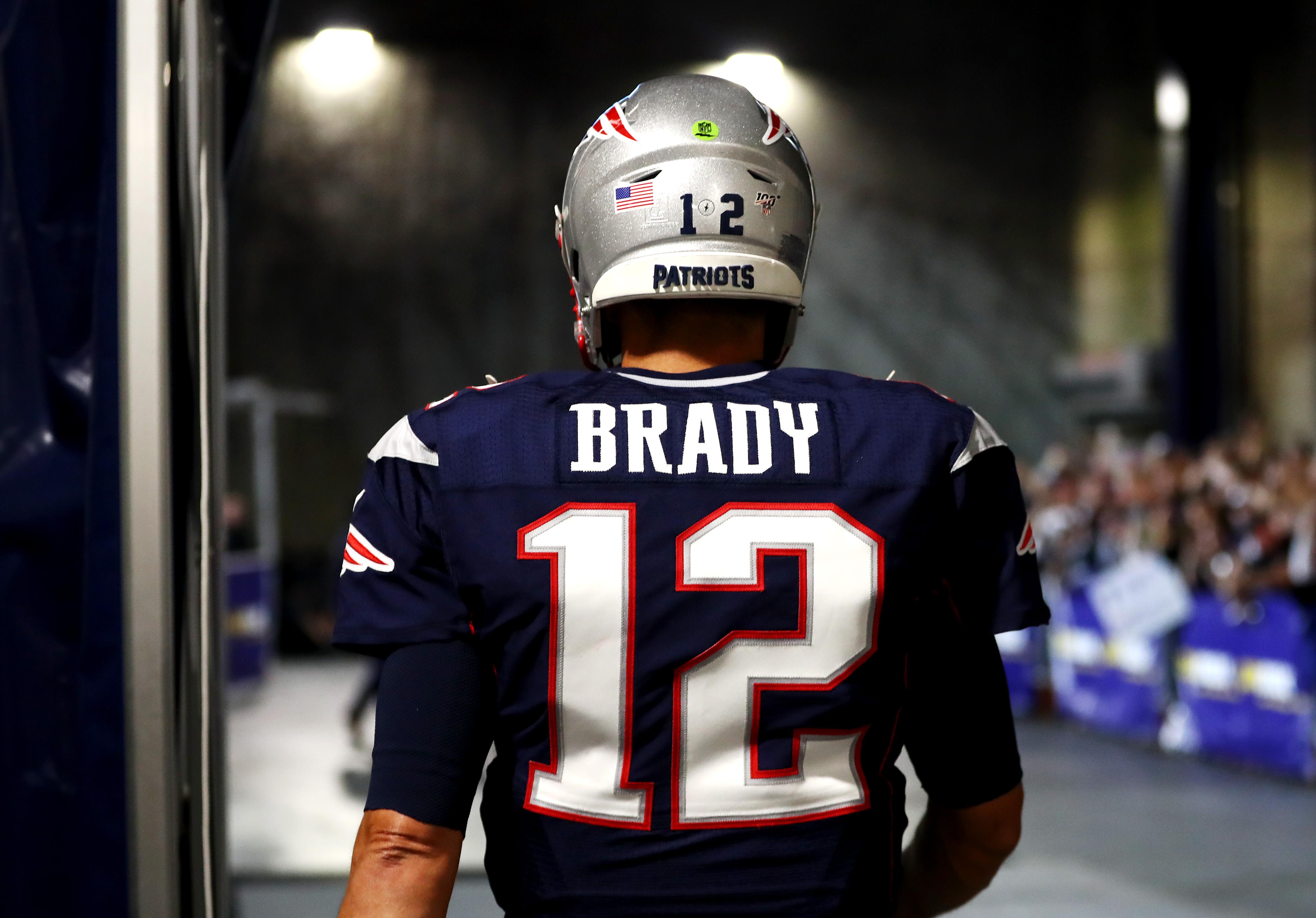 tom brady's jersey theft