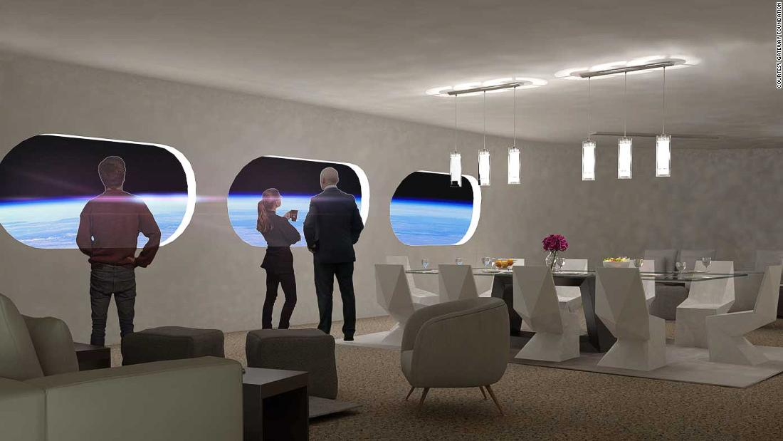 This may be the world's first space hotel