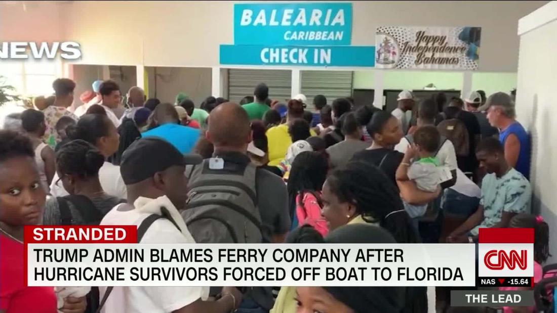 'They are fighting for water to bathe. Water to drink.' Evacuees describe devastation in Bahamas after Dorian