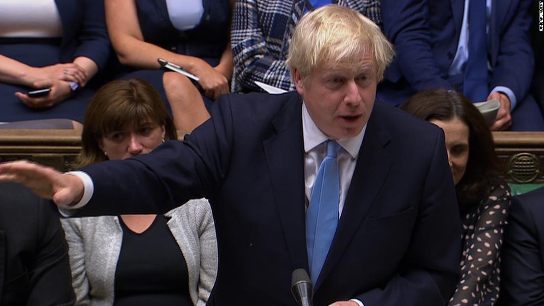 Call for snap UK general election fails (again) for Boris Johnson - CNN