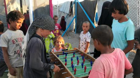 Some of al-Hol's women & # 39; They raised their children to conform to ISIS ' ideals, while others try to keep their children out of the camp.