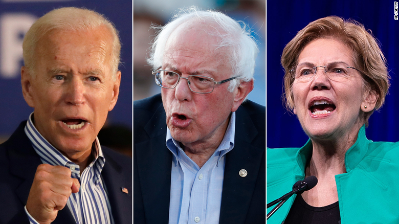 Image result for images of top democratic candidates