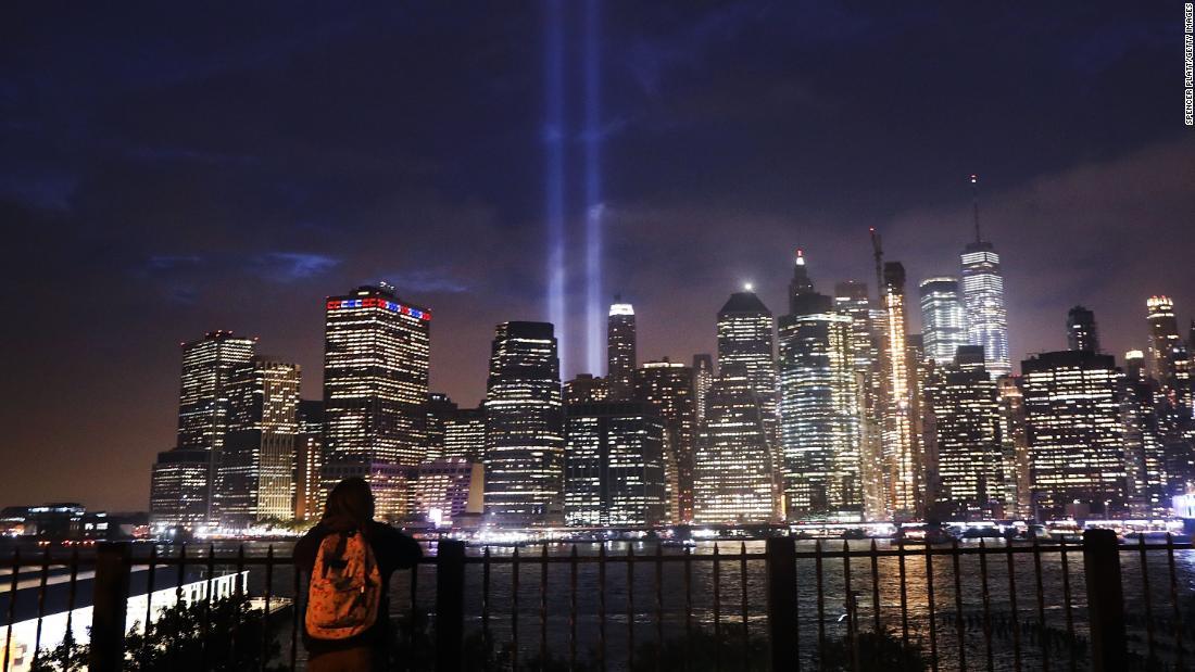 Ein moment der Stille für 9/11 ist nun das Gesetz in New Yorker Schulen