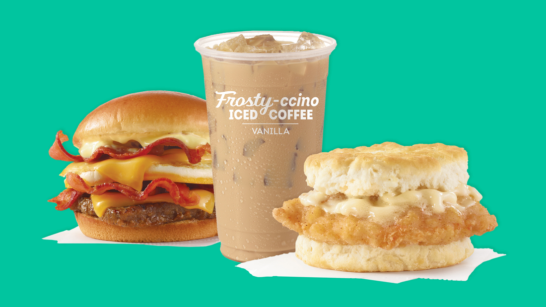 Wendy's breakfast menu will also have a Frosty-ccino.