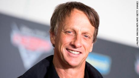 Skateboarding pro Tony Hawk received a gift from a 6-year-old fan with the help of a FedEx carrier in Georgia.