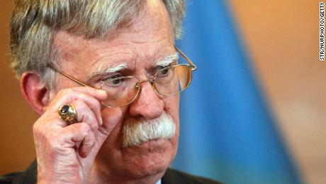 The Chamber does not accompany John Bolton after his lawyer threatens to go to court