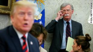 Trump national security team threatens to block Bolton's book
