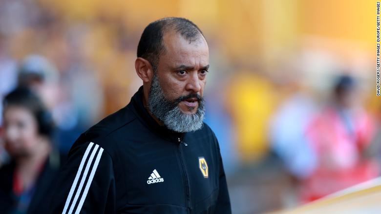 Wolves boss Nuno Espirito Santo is one of just four BAME coaches in England's top four leagues.