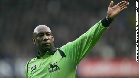 Uriah Rennie remains the only black referee to have officiated in the Premier League.