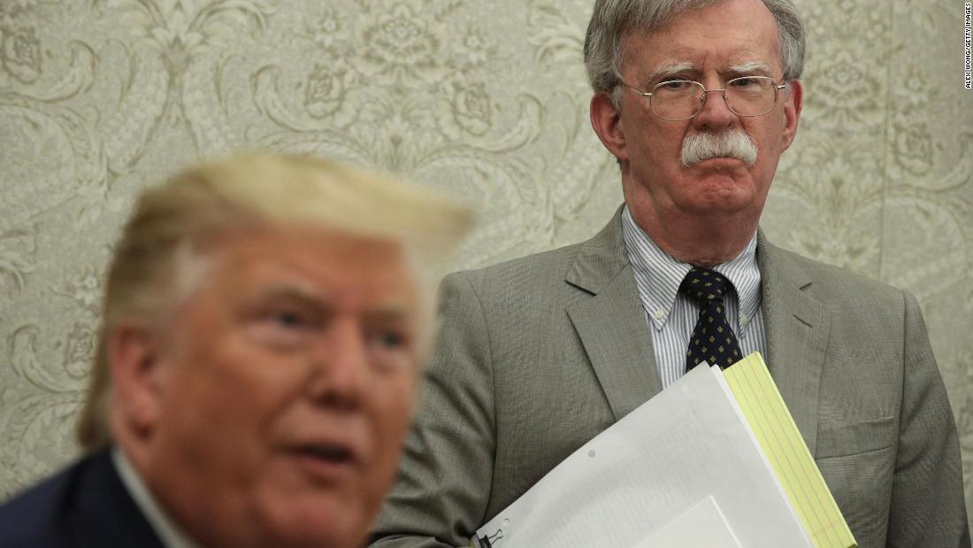 Analysis: 3 ways Bolton's bombshells contradict Trump's defense