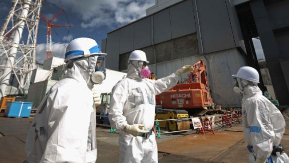 Decontamination efforts around the plant -- pictured here in 2016 -- are expected to take another two years