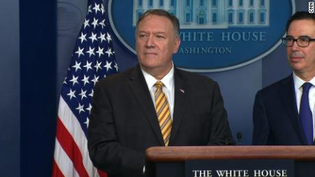 Pompeo blames Iran for drone attacks on Saudi oil field