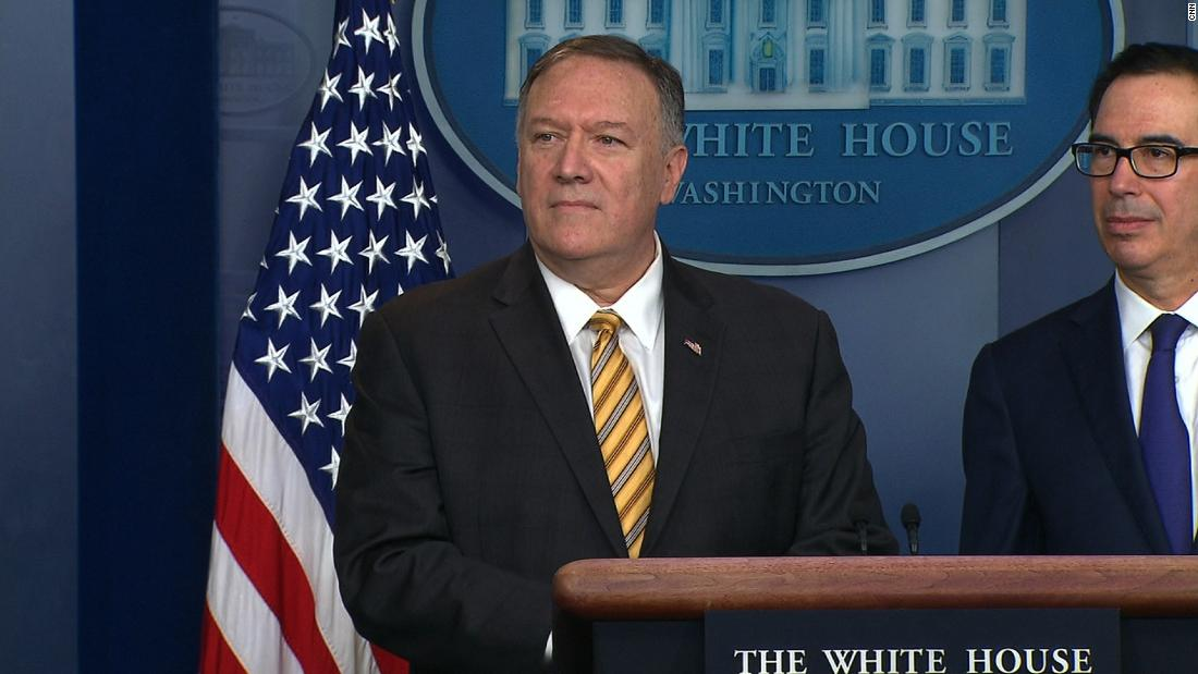 Pompeo blames Iran for drone attacks on Saudi oil field - CNN