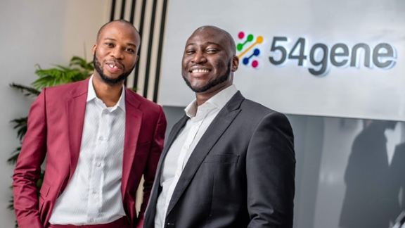 Francis Osifo and Abasi Ene-Obong co-founded 54gene earlier this year to further the study of African genomics, a field that has been under-explored until now.