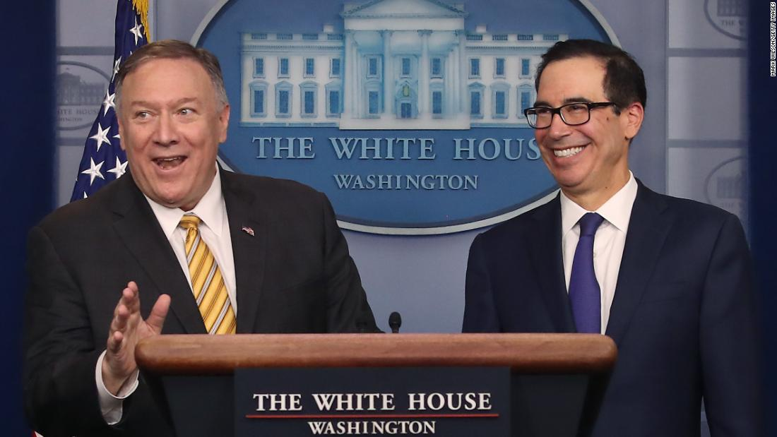 Analysis: Smile now, Mike Pompeo ...