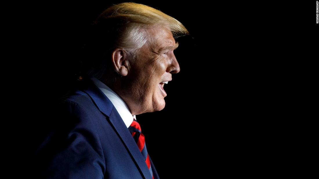 Trump laments media coverage and polls ahead of 9/11 commemoration