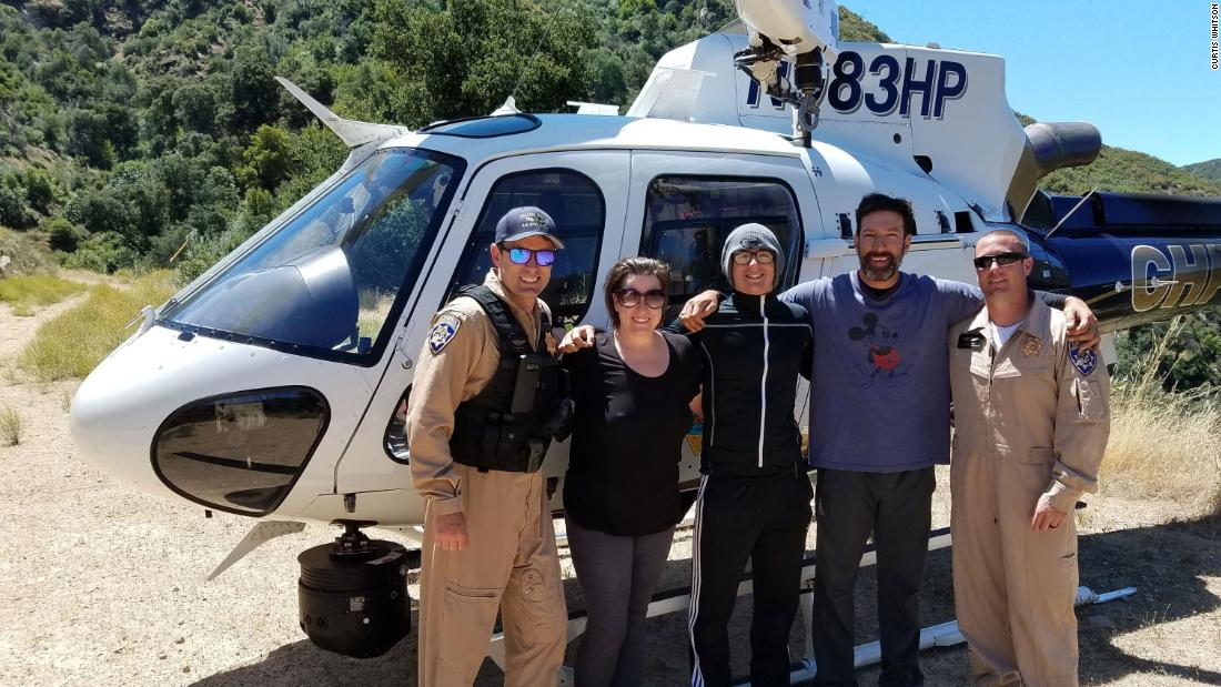 Two hikers found a message in a bottle and helped rescue a stranded family. Now the family wants to thank them