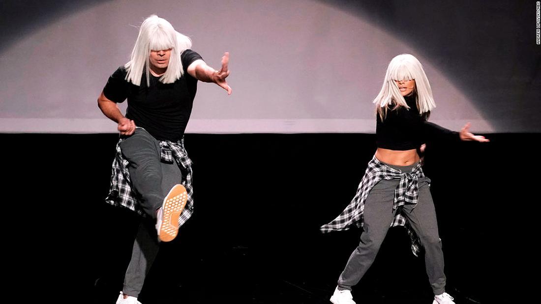 Jimmy Fallon and Jennifer Lopez slay the 'History of Music Video Dance'