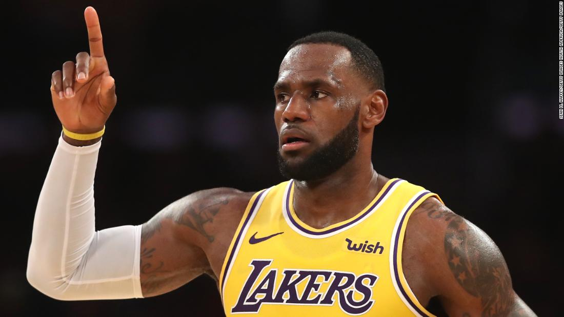 Lebron James Says He S Ready To Move On From The China Controversy Cnn