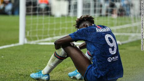 Chelsea's Tammy Abraham has been subjected to racist abuse online.