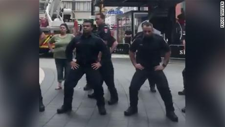 New Zealand firefighters perform powerful haka to honor 9/11 first responders
