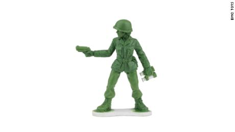 A toy company will make little green Army women after hearing from vets and a 6-year-old girl