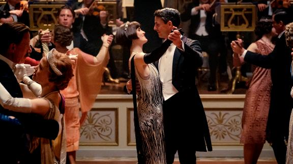 Michelle Dockery and Matthew Goode in 'Downton Abbey' (Jaap Buitendijk / Focus Features)