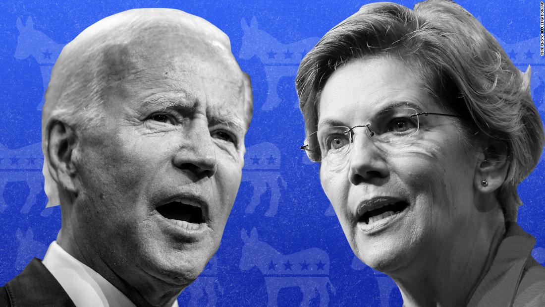 Analyse: Wie Biden und Warren beide denken, dass Sie gewinnen können heute Abend in der Debatte